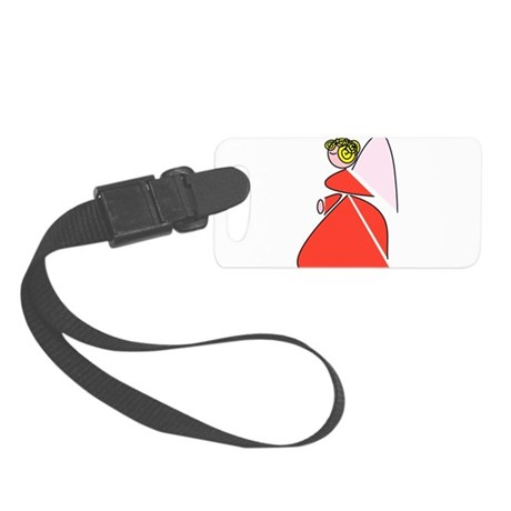angel9b.png Small Luggage Tag