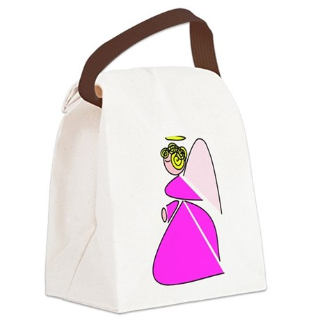angel9a.png Canvas Lunch Bag