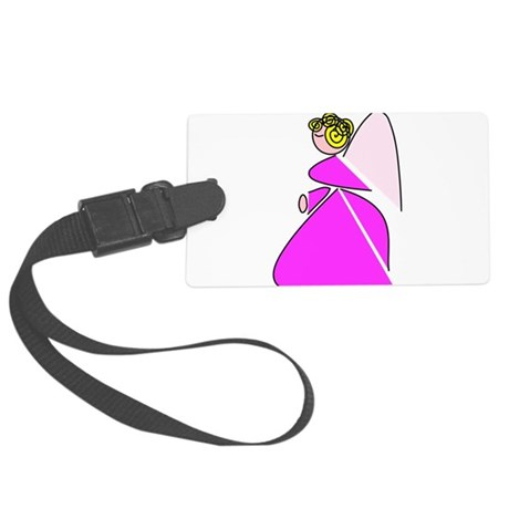 angel9a.png Large Luggage Tag