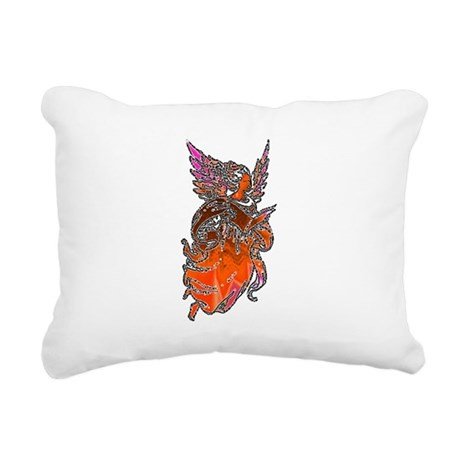 angel3d1.png Rectangular Canvas Pillow