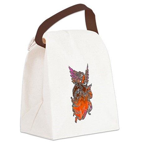 angel3d1.png Canvas Lunch Bag