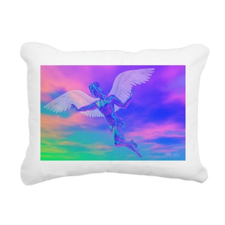 angelc.png Rectangular Canvas Pillow