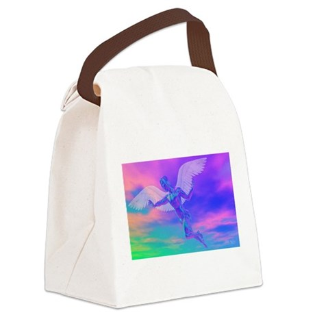 angelc.png Canvas Lunch Bag