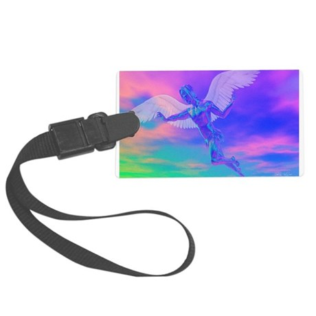 angelc.png Large Luggage Tag