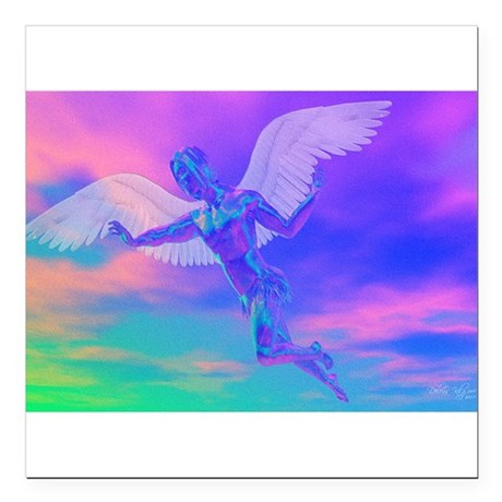 "angelc.png Square Car Magnet 3"" x 3"""