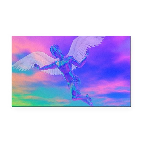 angelc.png Rectangle Car Magnet