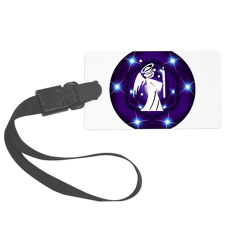 angel.png Large Luggage Tag