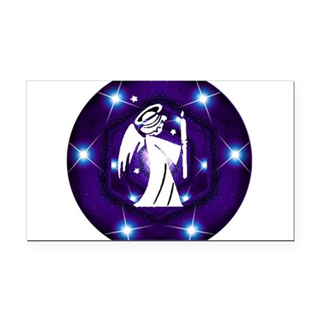 angel.png Rectangle Car Magnet