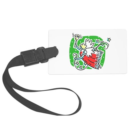 angel6b.png Large Luggage Tag