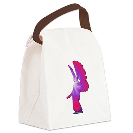 angel4a.png Canvas Lunch Bag