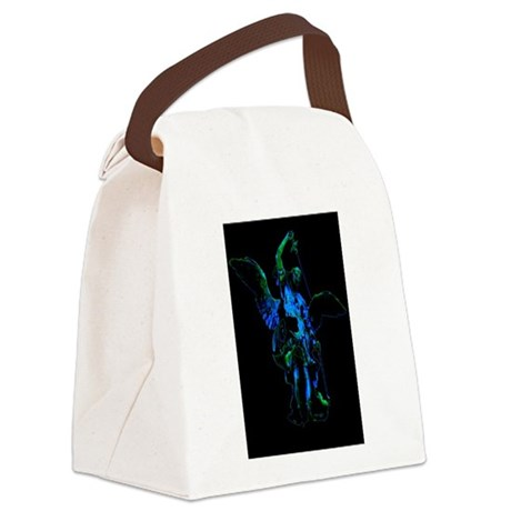 angel1a3lg.png Canvas Lunch Bag