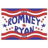 Starry 2012 Romney Ryan Wall Art