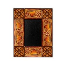 Harvest Moons Fall Leaves Picture Frame