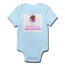 African American Big Sister Infant Creeper