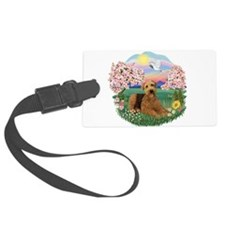 Blossoms- Airedale 5.png Luggage Tag