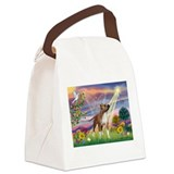 Cloud Angel & Amstaff Canvas Lunch Bag