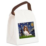 5.5x7.5-STARRY-CAV2B.PNG Canvas Lunch Bag