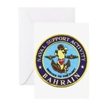 USN Bahrain Greeting Cards (Pk of 10)