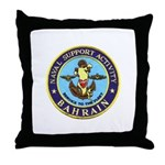 USN Bahrain Throw Pillow