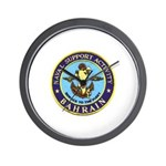 USN Bahrain Wall Clock