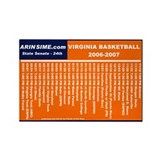 Basketball Schedule Magnet (10 pack)