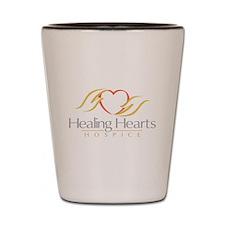 Healing Hearts Hospice Shot Glass