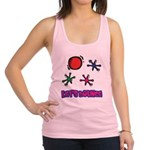 Lets Bounce Jacks Jax.png Racerback Tank Top