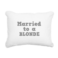 BLONDE.png Rectangular Canvas Pillow
