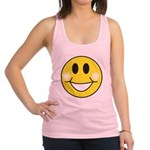 smiley-face.png Racerback Tank Top