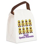 cystic fibrosis.png Canvas Lunch Bag
