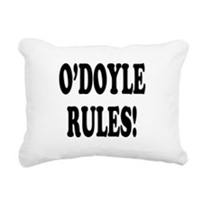 odoyle rules.png Rectangular Canvas Pillow