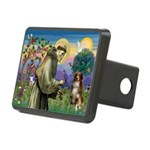 St Francis/ Aus Shep Rectangular Hitch Cover