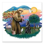 St Francis #2/ B Shepherd Square Car Magnet 3