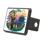St Francis #2/ Boston Ter Rectangular Hitch Cover