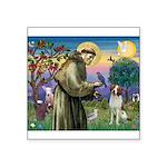 St. Fran. / Brittany Square Sticker 3