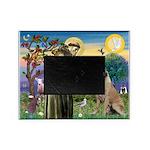 St Francis / Bullmastiff Picture Frame