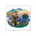 St Francis #2/ Cairn (br) Square Sticker 3