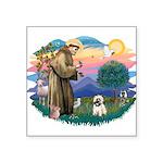 St.Francis #2/ Cairn T (#14) Square Sticker 3&quot