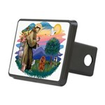 St.Fran #2/ Cavalier (r) Rectangular Hitch Cover