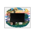 St.Francis #2/ Fr Bulldog (f) Picture Frame