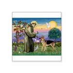St Francis / G Shep Square Sticker 3