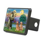 StFrancis-2Goldens.png Rectangular Hitch Cover