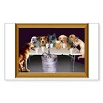 St Francis & Golden Puzzle Coasters (set of 4)