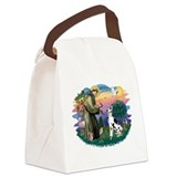 St.Francis #2/ Great Dane (H) Canvas Lunch Bag