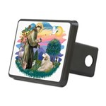 St.Francis #2/ Pyrenees#2 Rectangular Hitch Cover