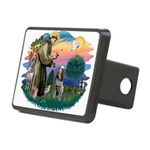St Francis #2/ Spinone Rectangular Hitch Cover