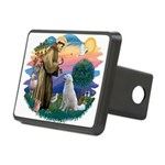 St Francis #2/ Kuvacz Rectangular Hitch Cover