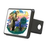 St.Francis #2 / Black Lab Rectangular Hitch Cover