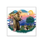 St.Francis #2/ Pomeranian (T Square Sticker 3&quot