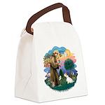 St Francis #2/ Sealyham T Canvas Lunch Bag